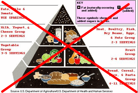 Low fat diet pyramid