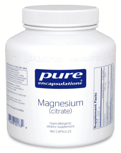 Magnesium citrate pure encapsulations