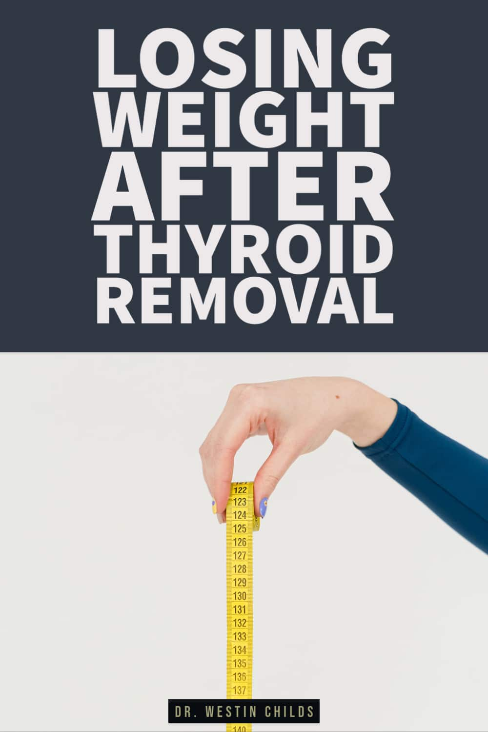 losing weight after thyroid removal