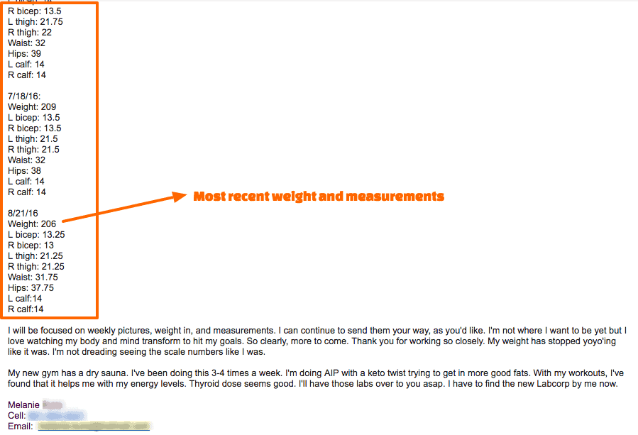 Melanie thyroid metabolism reset program most recent results