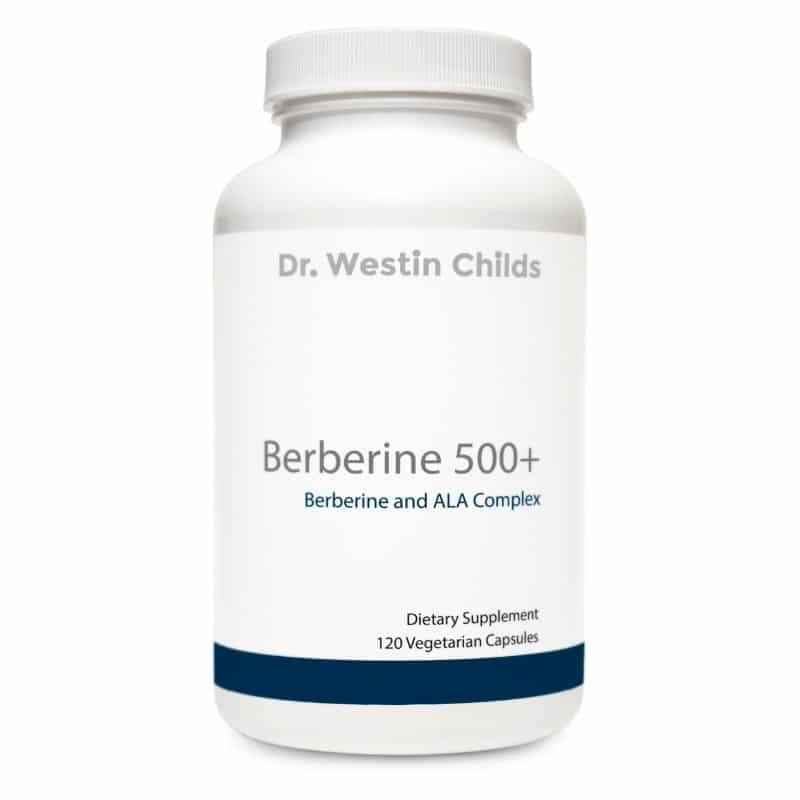 berberine 500 + front bottle image 800 x 800