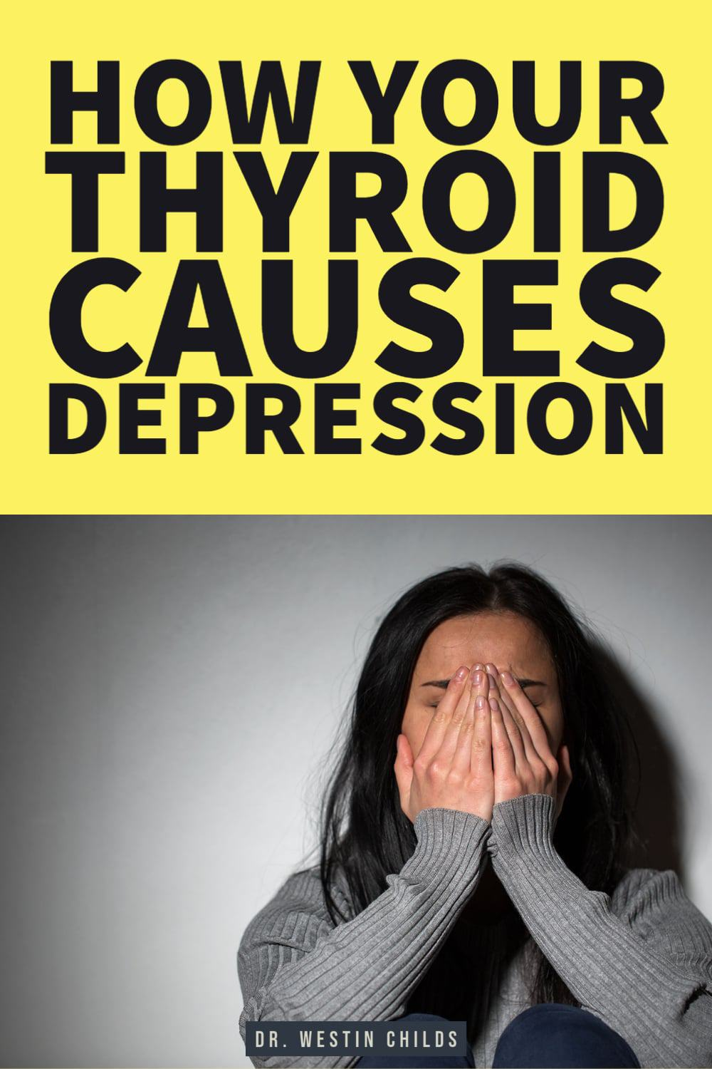 how your thyroid causes depression
