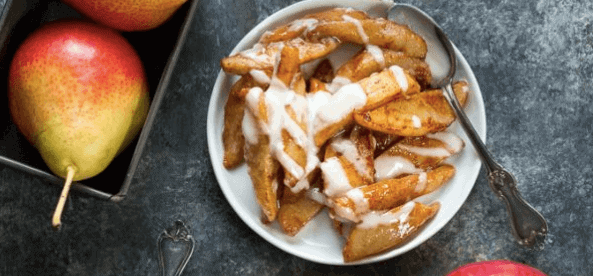sauteed apples and pears