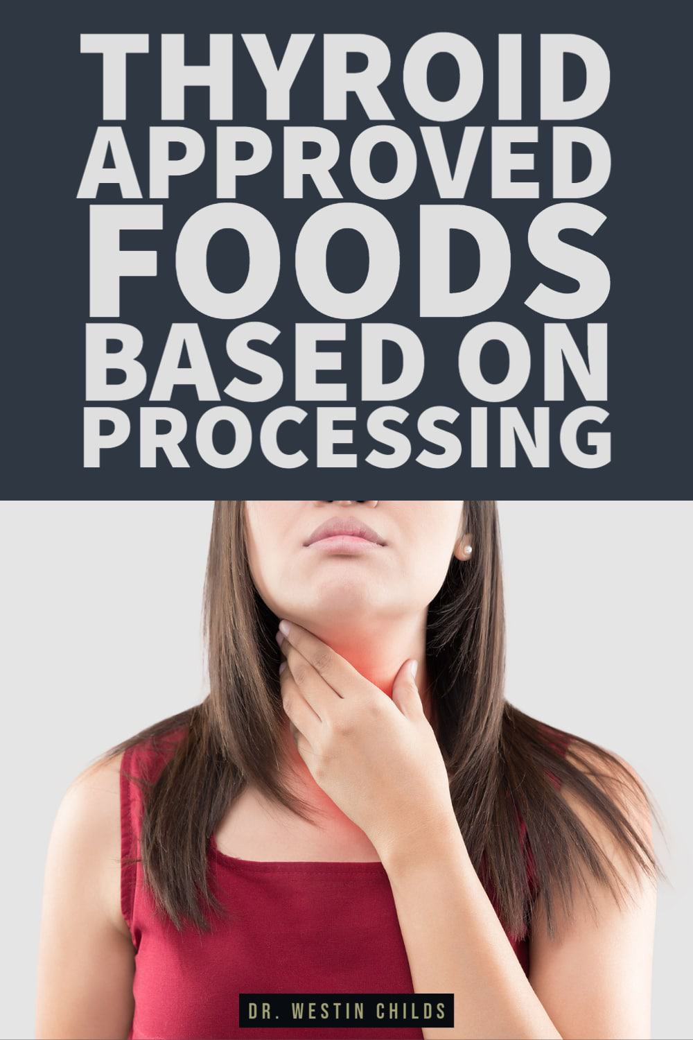 thyroid approved food list