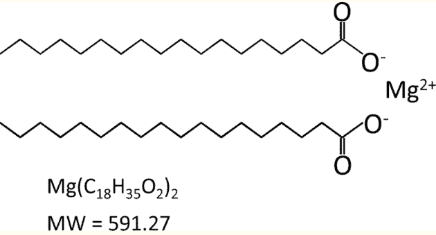 magnesium stearate chemical structure