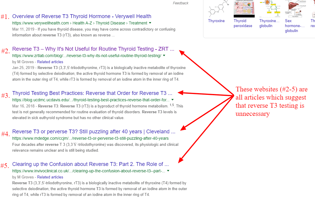 reverse t3 in google search results
