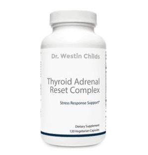thyroid adrenal reset complex supplement guide