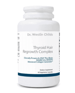 thyroid hair regrowth complex supplement guide