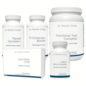 hypothyroid bundle 5 supplement combo