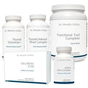 hypothyroid bundle 5 supplement combo