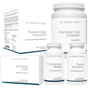thyroidectomy and RAI supplement bundle
