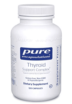 thyroid support complex pure encapsulations