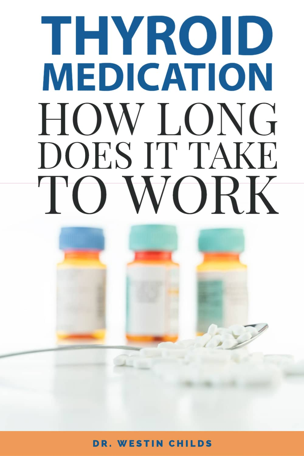 thyroid medication - how long does it take to work