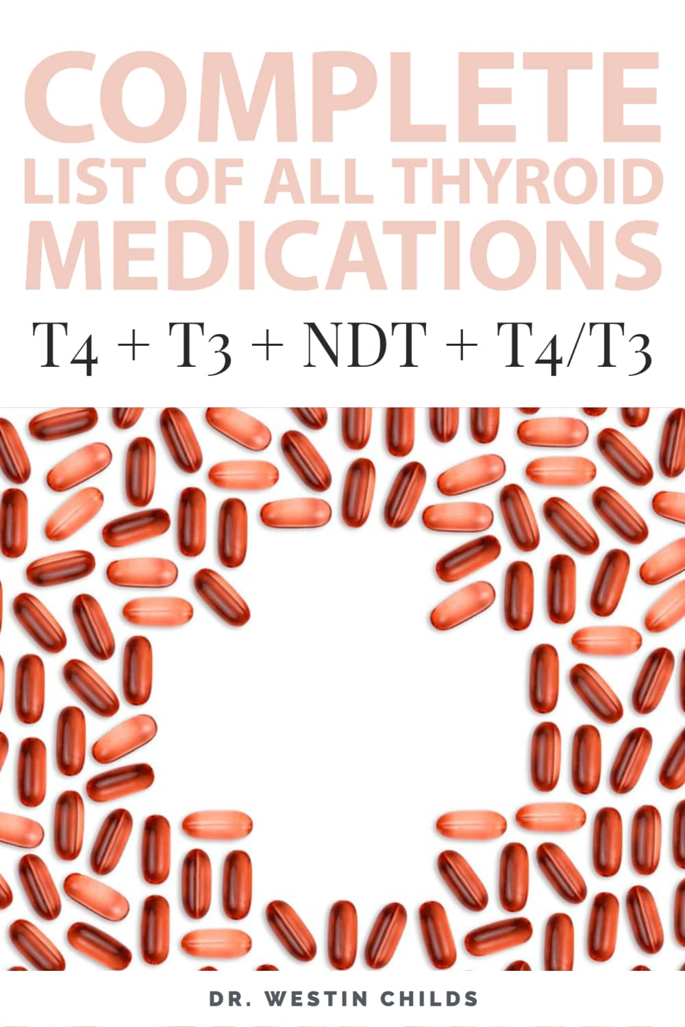 complete list of all thyroid medications