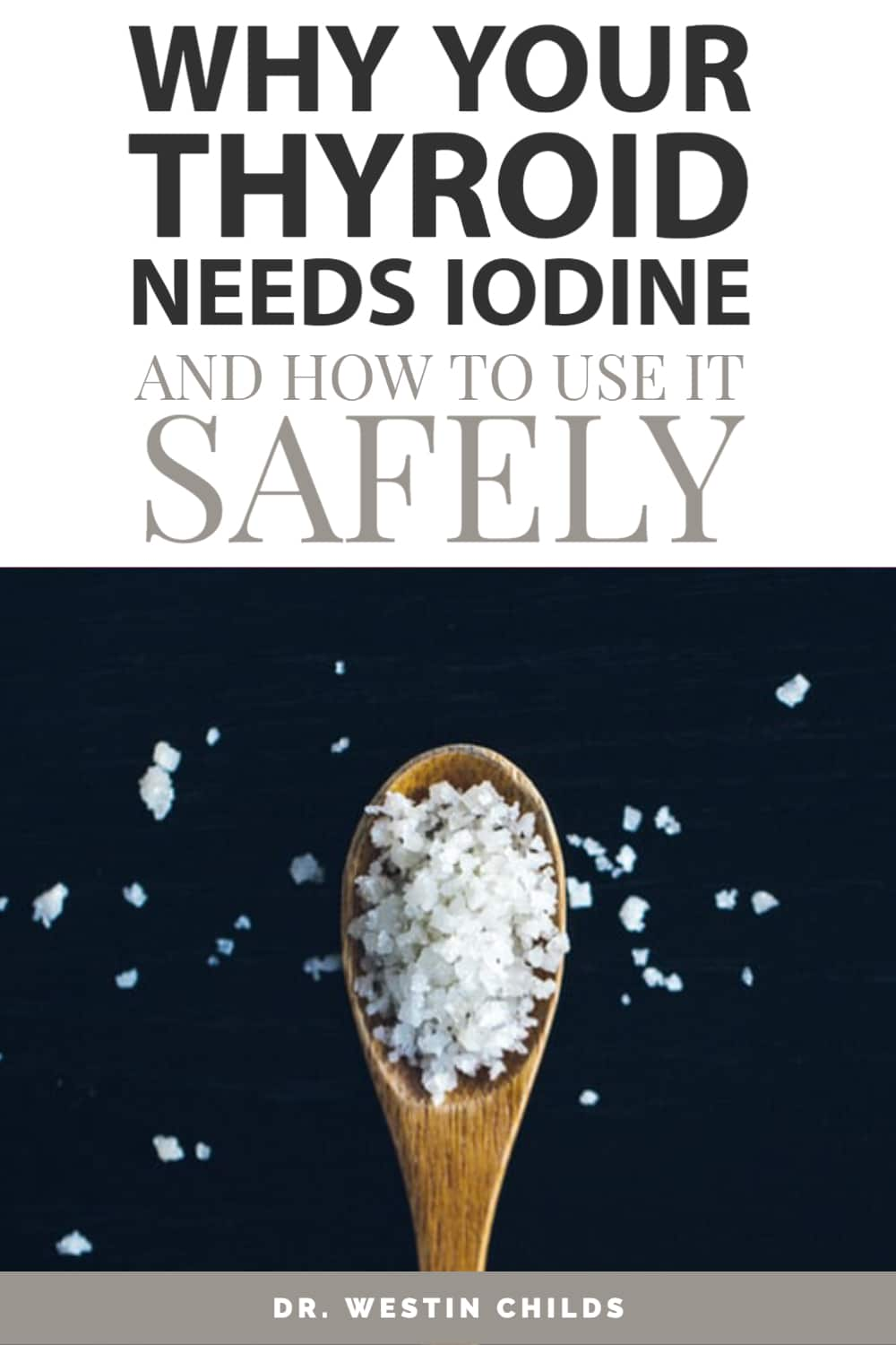 why your thyroid needs iodine
