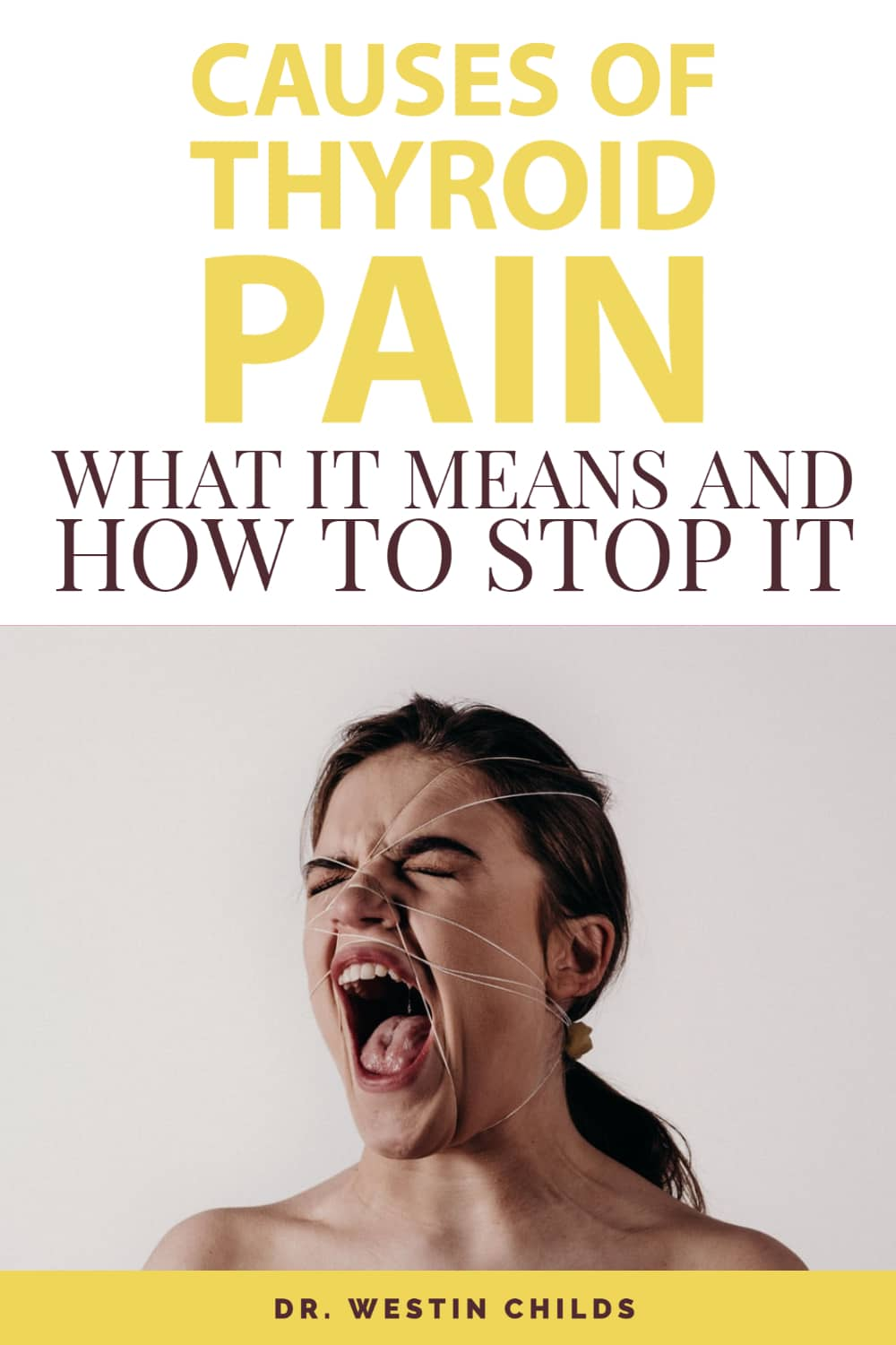 causes of thyroid pain