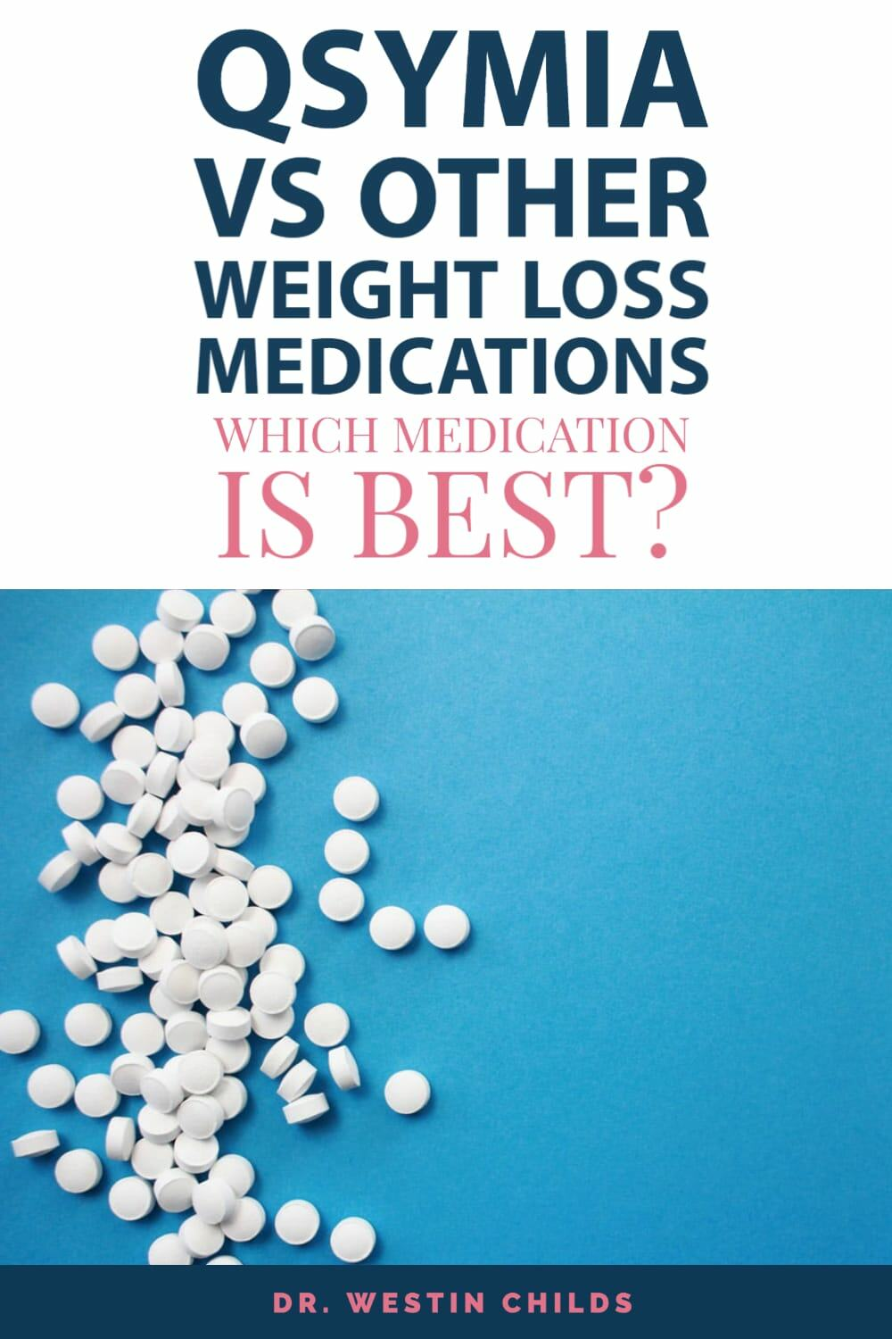 qsymia vs other weight loss medications