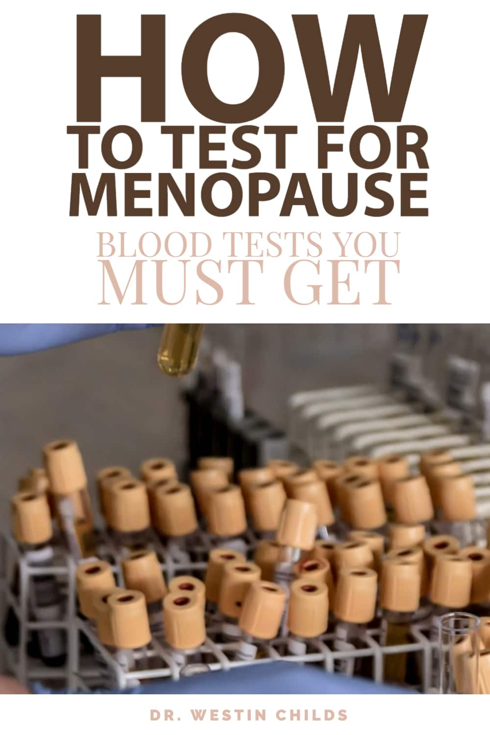 how to test for menopause