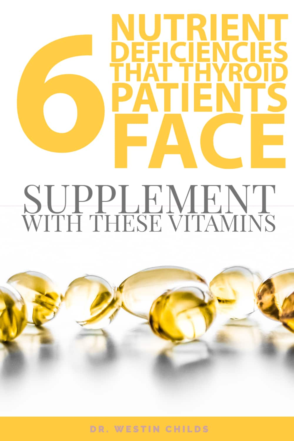 nutrient deficiencies in hypothyroid patients