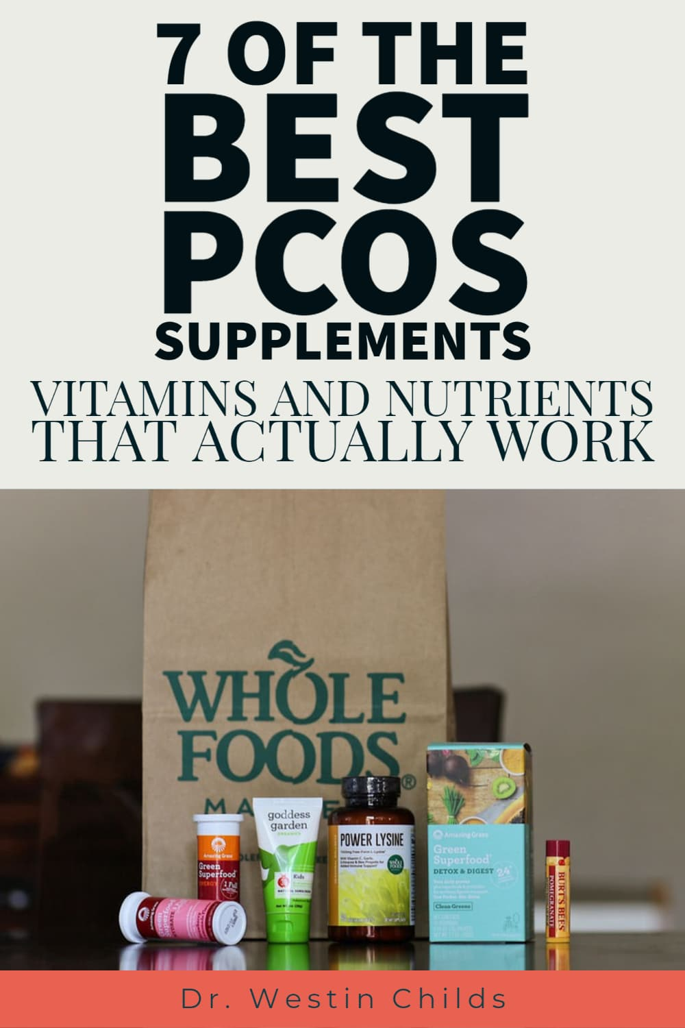 7 of the best PCOS supplements on the market