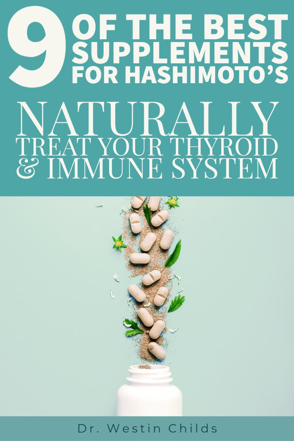 9 of the best hashimoto's supplements