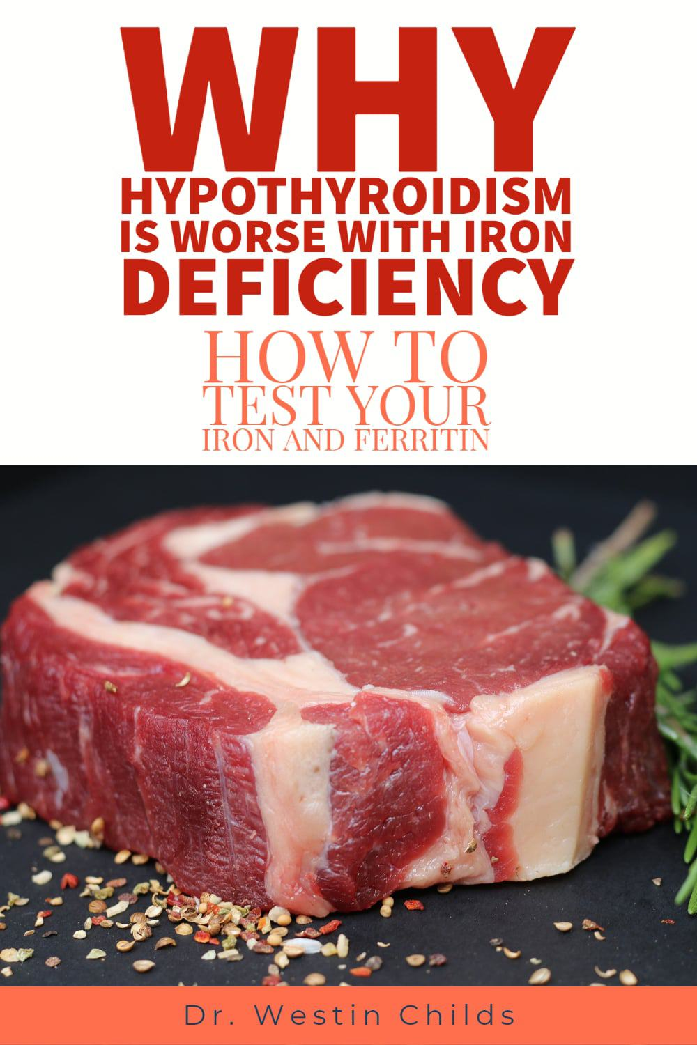 iron deficiency and hypothyroidism