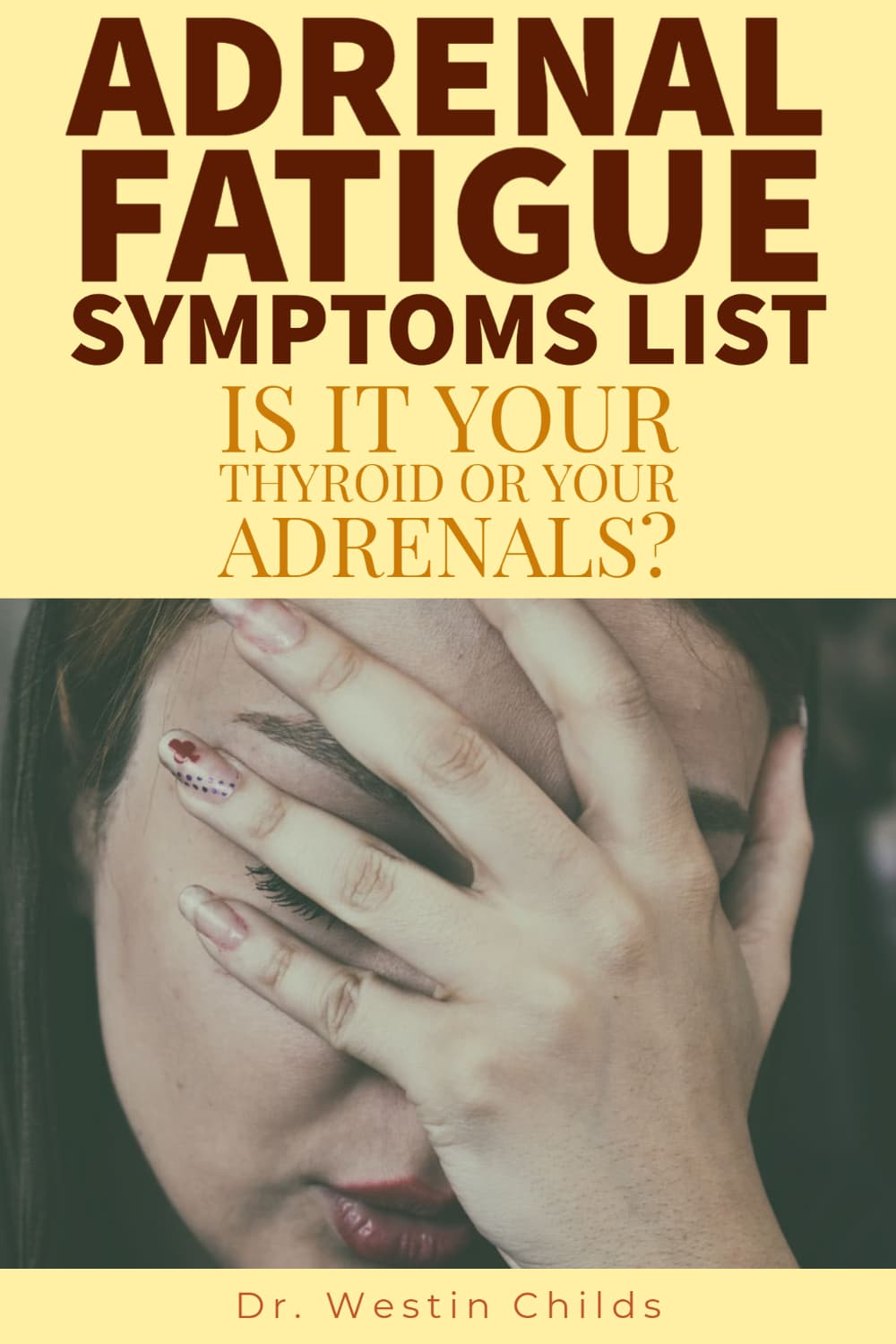 adrenal fatigue symptoms list