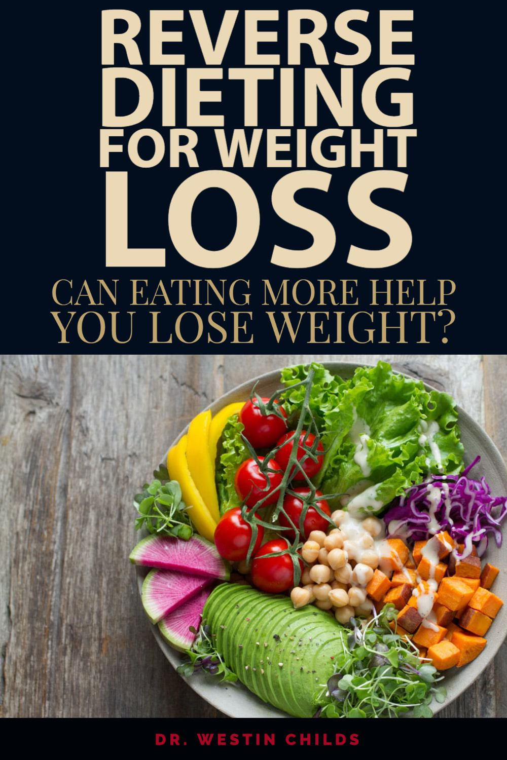 reverse dieting for weight loss