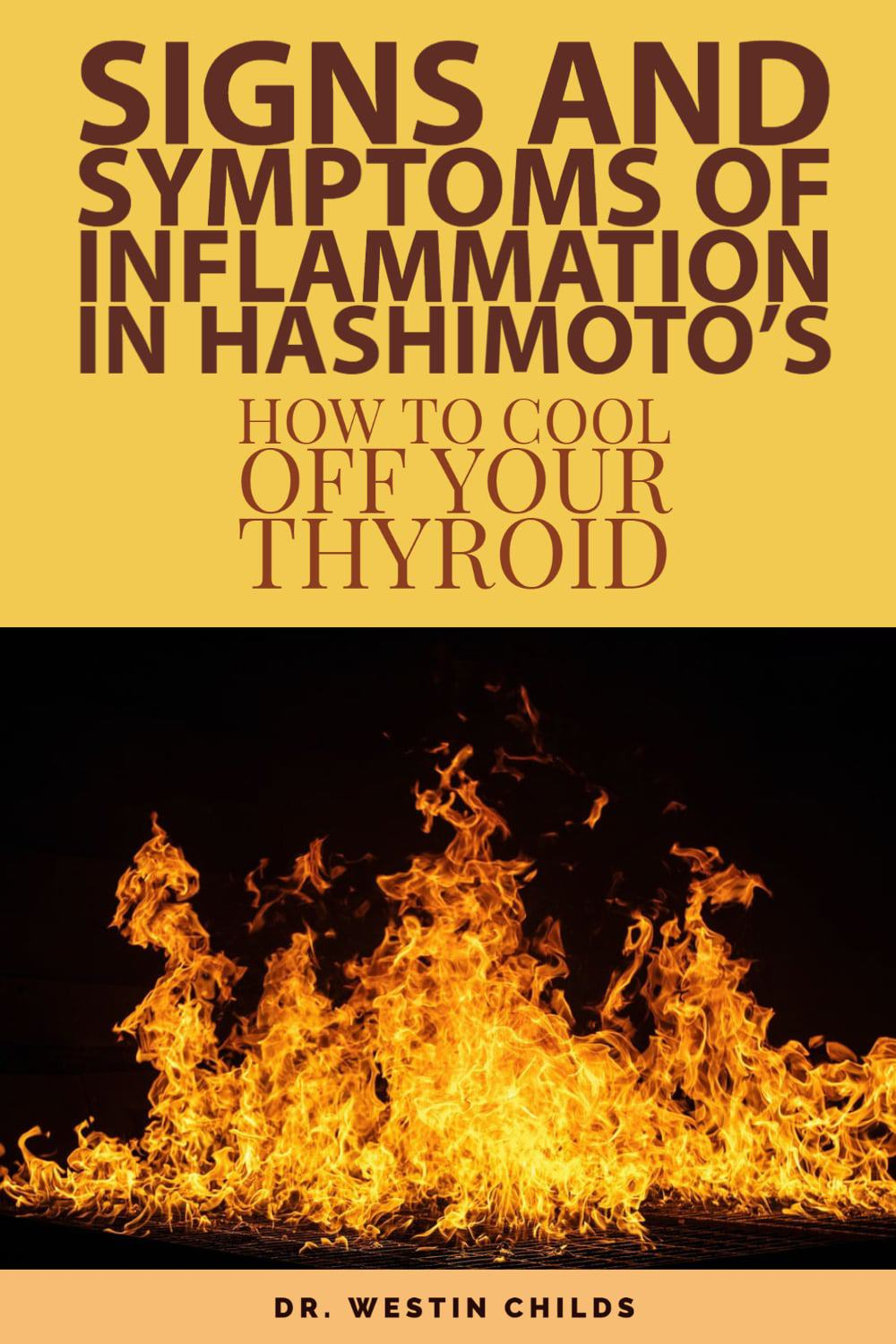 how inflammation damages your thyroid