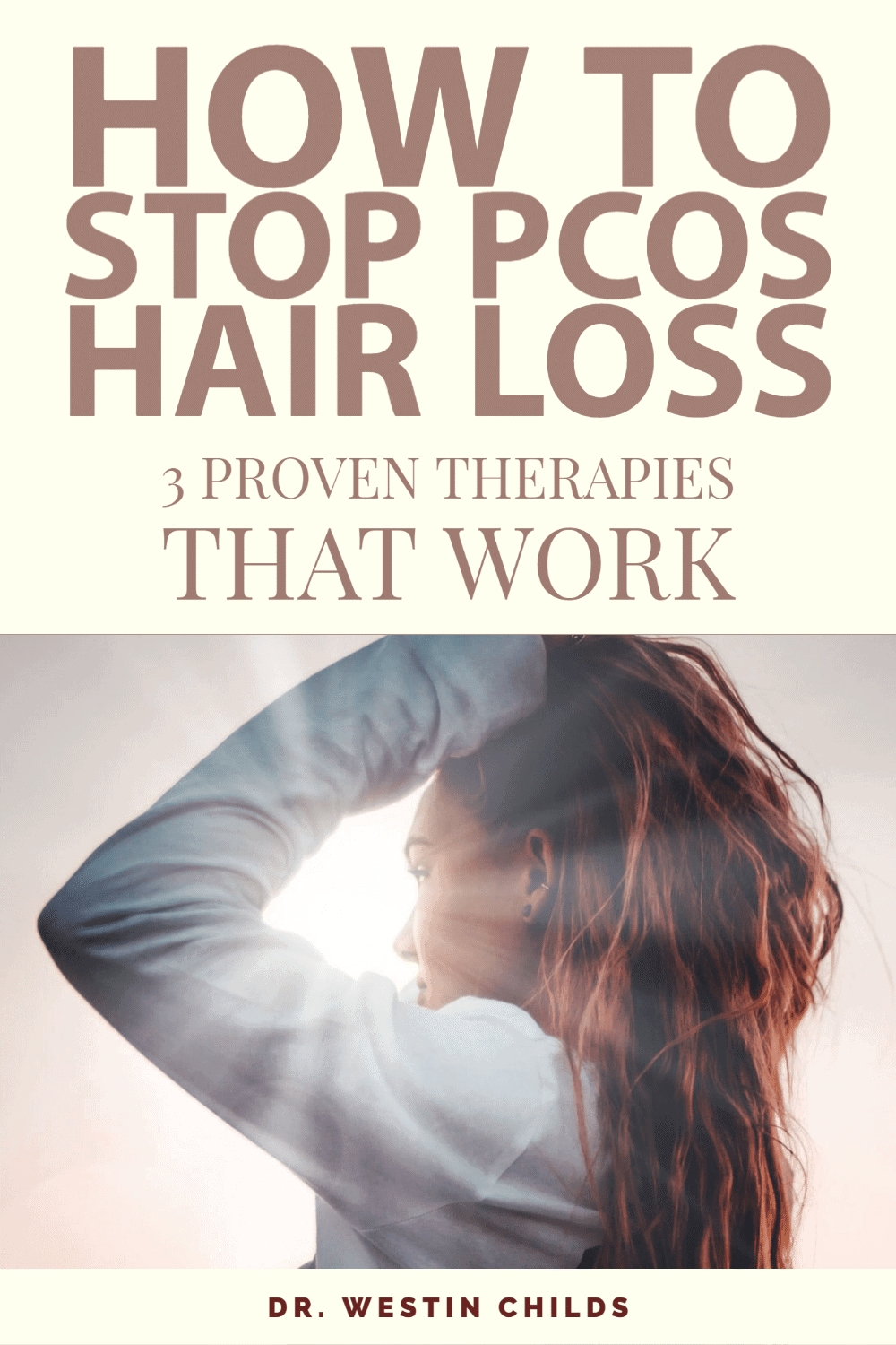how to stop pcos hair loss with 3 treatments