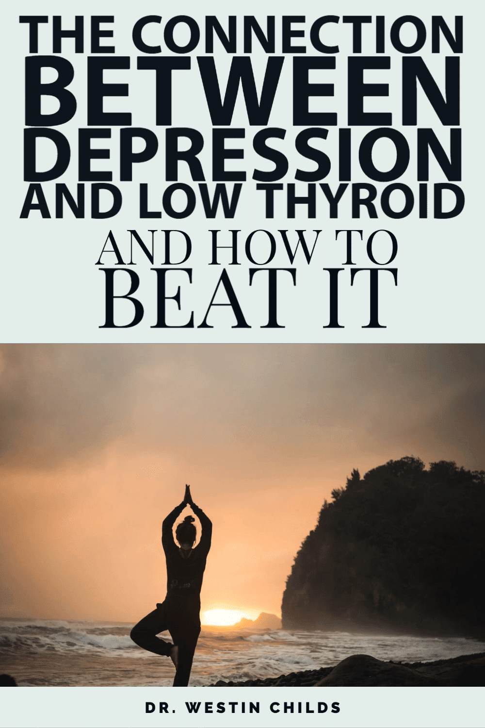 the connection between depression and low thyroid and how to beat it