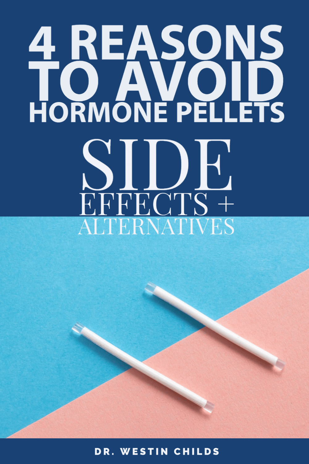 4 reasons to avoid hormone pellets