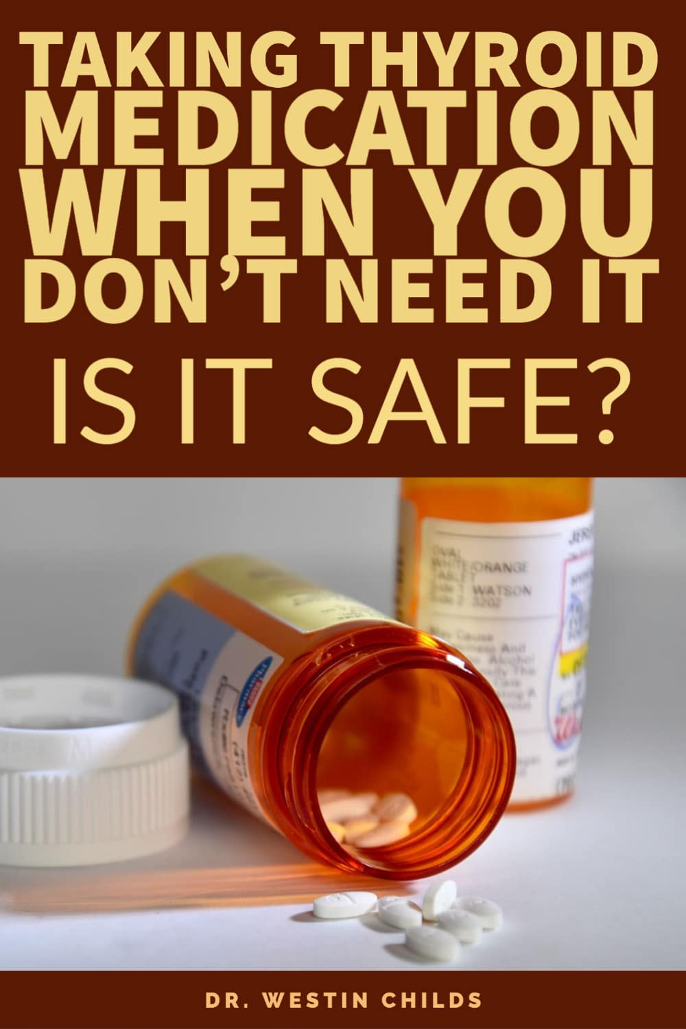 what happens if you take thyroid medication when you don't need it?