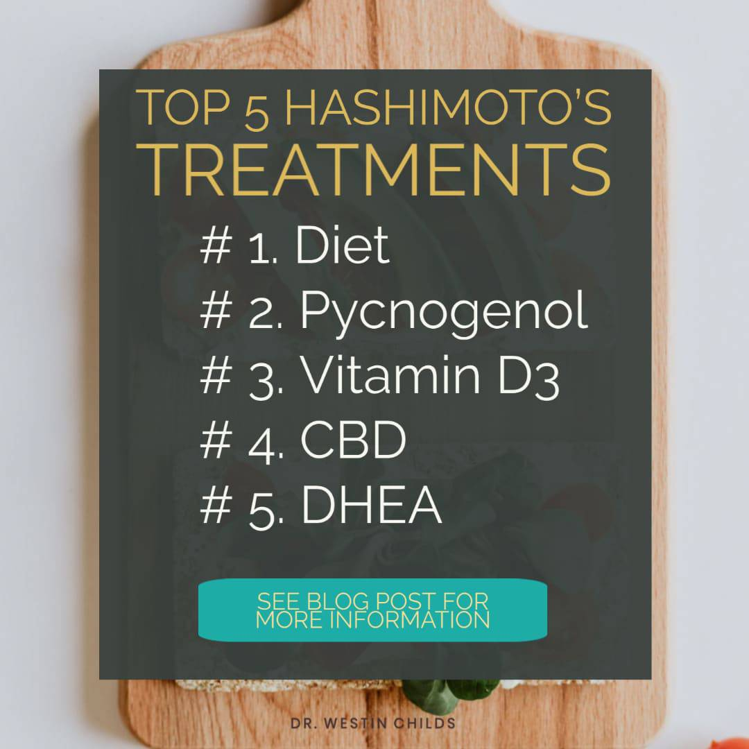 top 5 treatments for hashimoto's