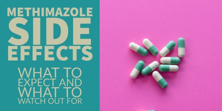 methimazole side effects - the complete list