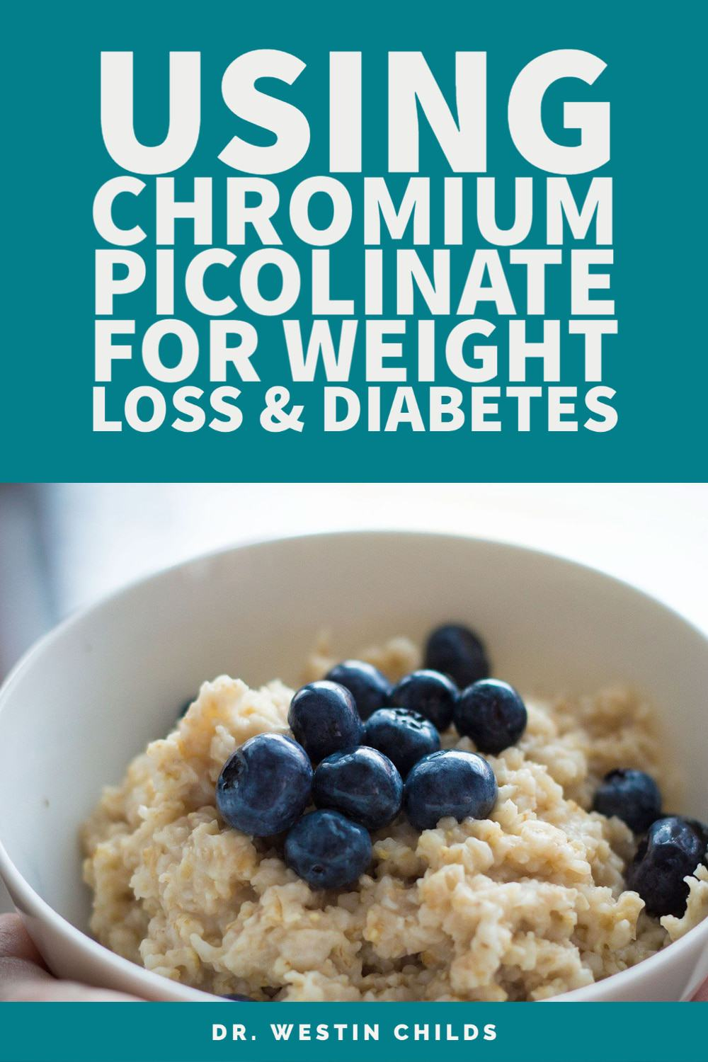 using chromium picolinate for weight loss and diabetes