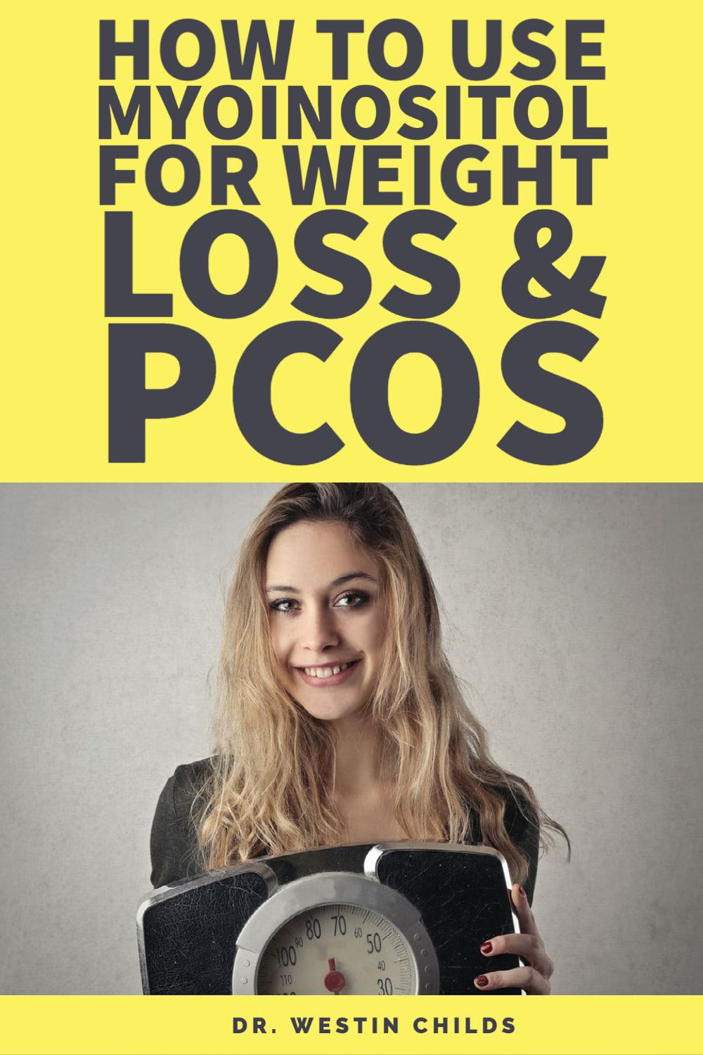 how to use myoinositol for weight loss and PCOS