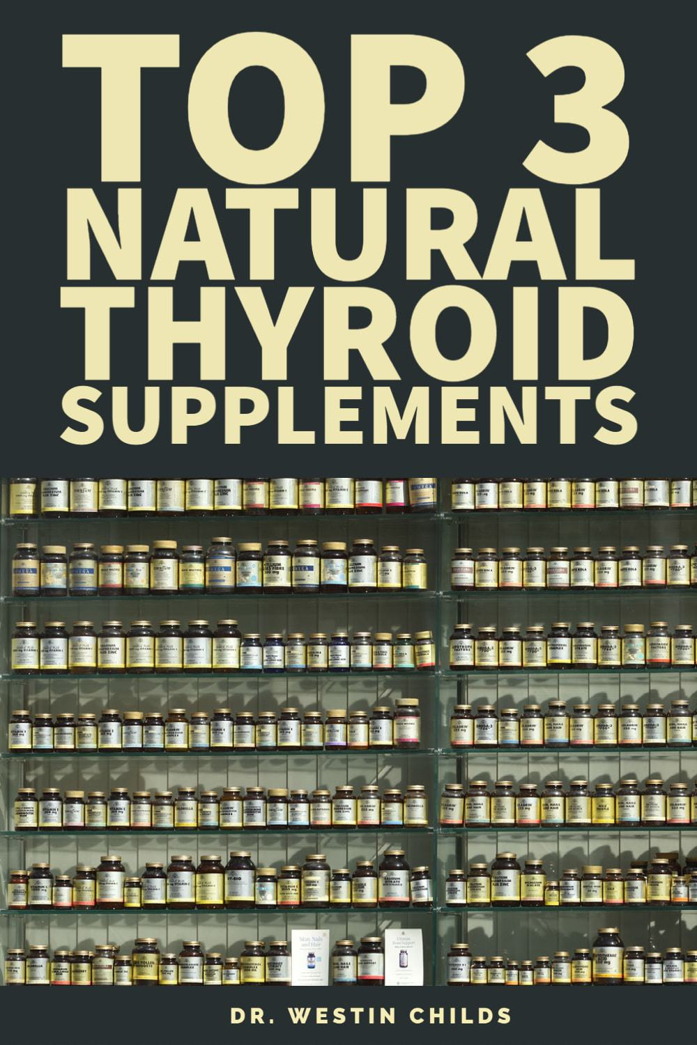 top 3 natural thyroid support supplements for low thyroid