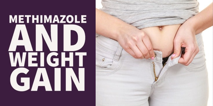 How Methimazole may cause weight gain