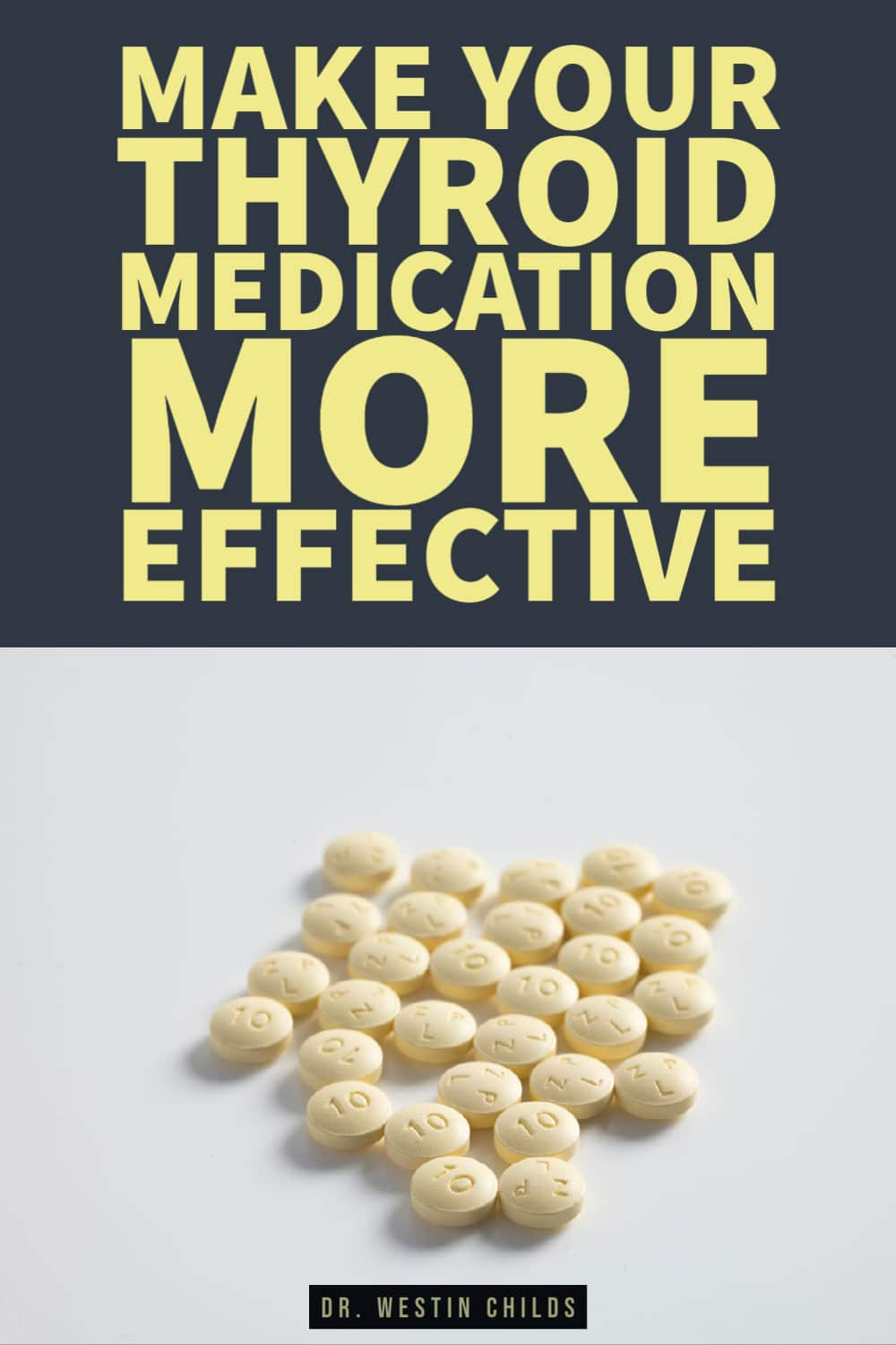 tips to make your thyroid medication more effective