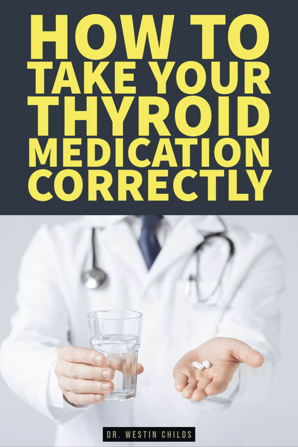 are you taking your thyroid medication the right way?