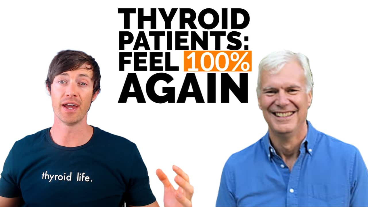 how thyroid patients can feel 100% again using T3 thyroid medication