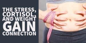 The Stress, Cortisol and Weight Gain Connection (& How to Stop it)