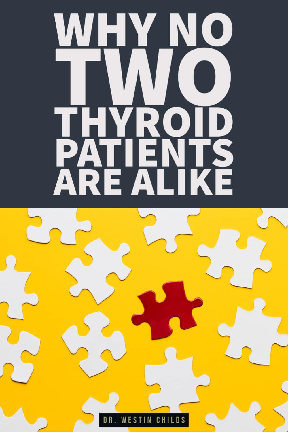 why thyroid patients are different and need different treatments
