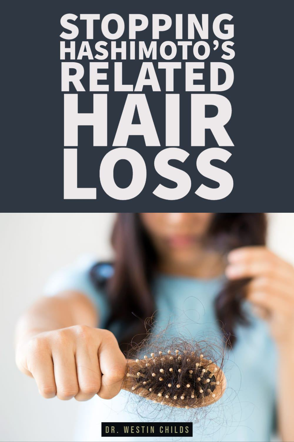 how to stop hashimoto's related hair loss