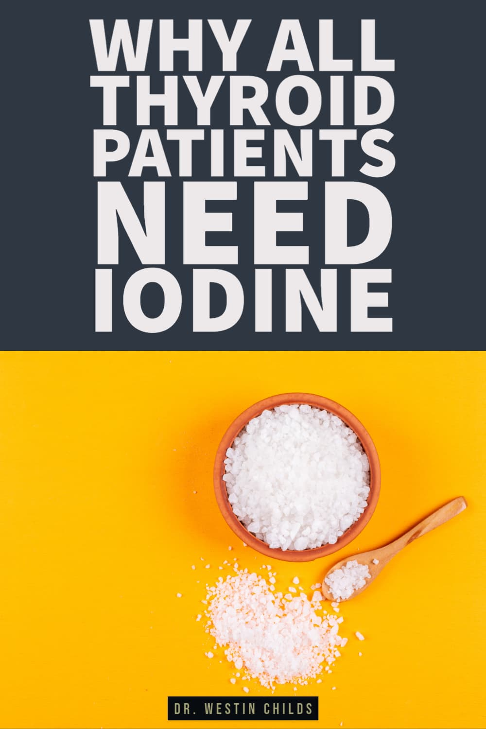 why all thyroid patients need iodine
