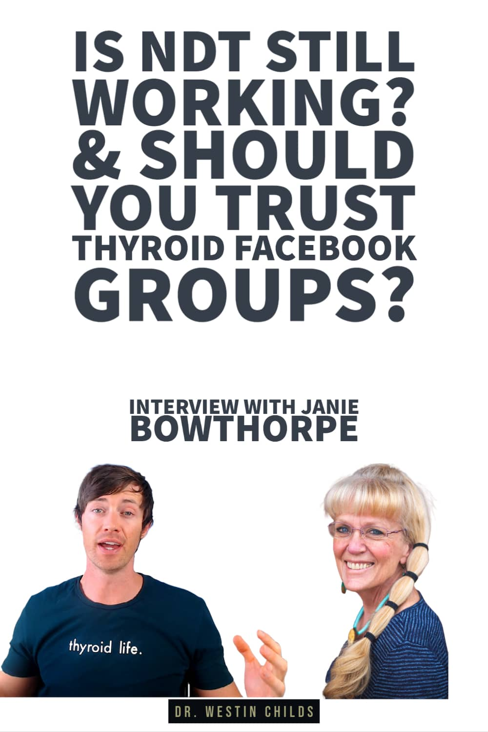 is NDT still working? interview with janie bowthorpe