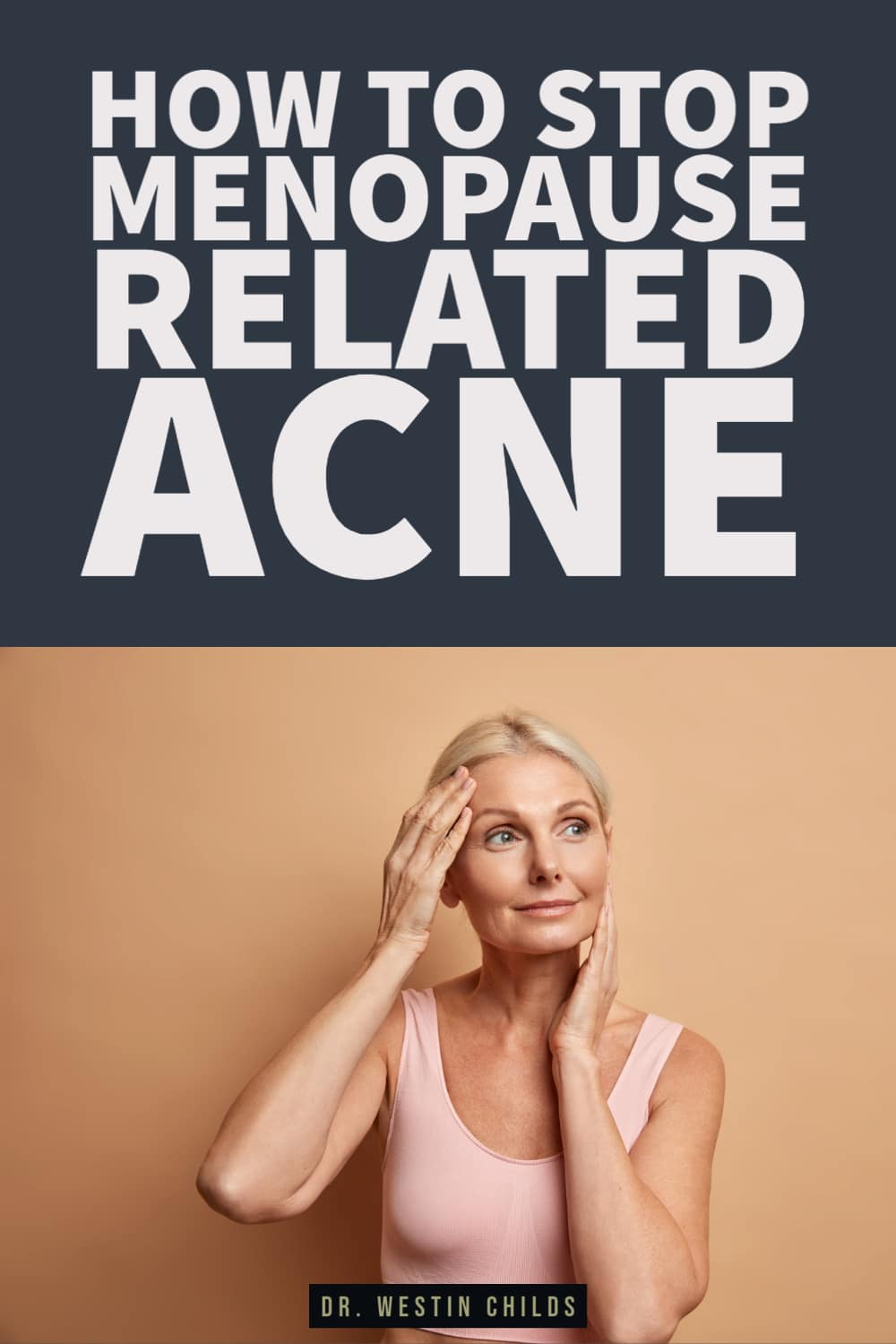 how to stop menopause related acne