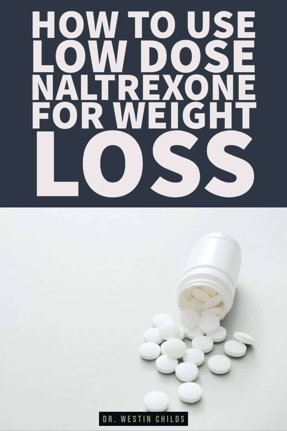how to use low dose naltrexone for weight loss