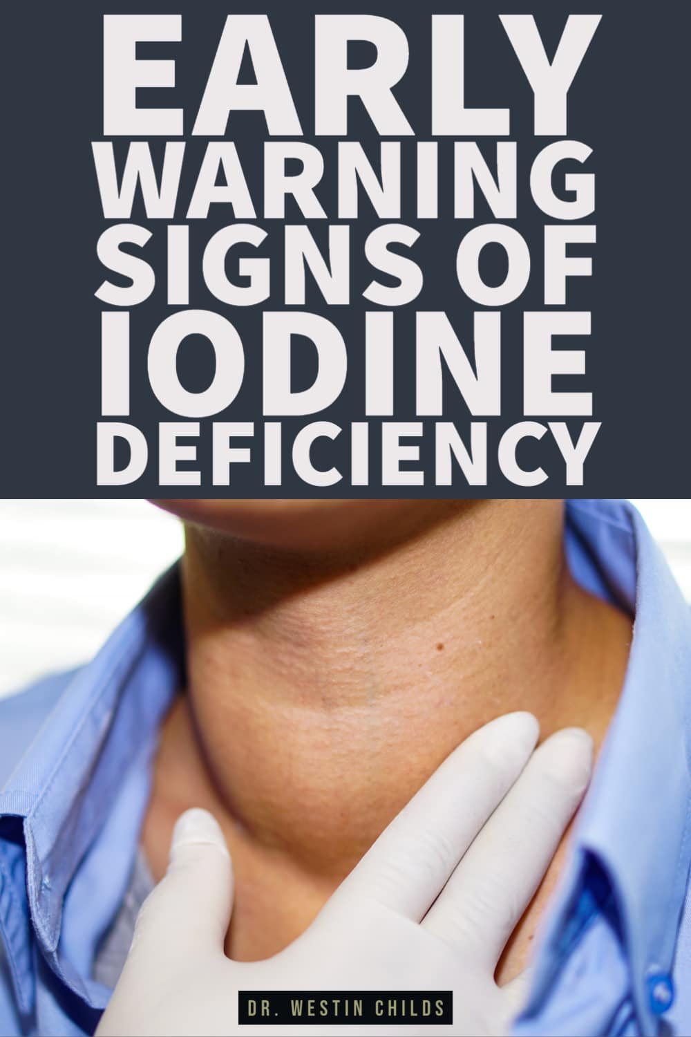 early warning signs you are not getting enough iodine